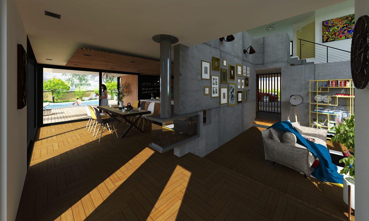 maison wolfgantzen architecte colmar endress architecte. Black Bedroom Furniture Sets. Home Design Ideas